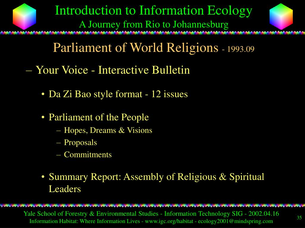Parliament of World Religions