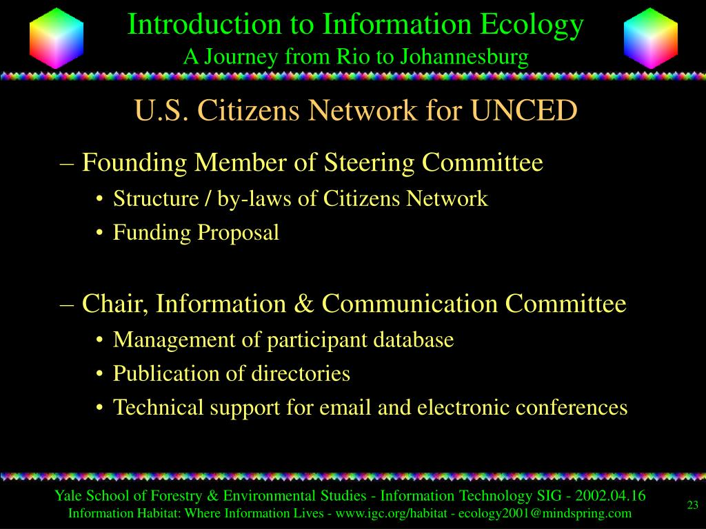 U.S. Citizens Network for UNCED