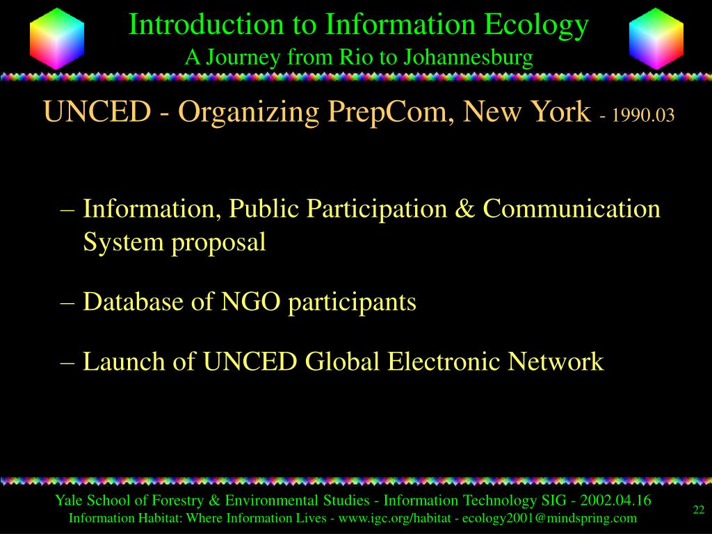 UNCED - Organizing PrepCom, New York