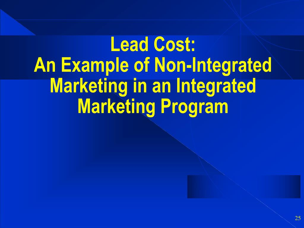 Lead Cost:
