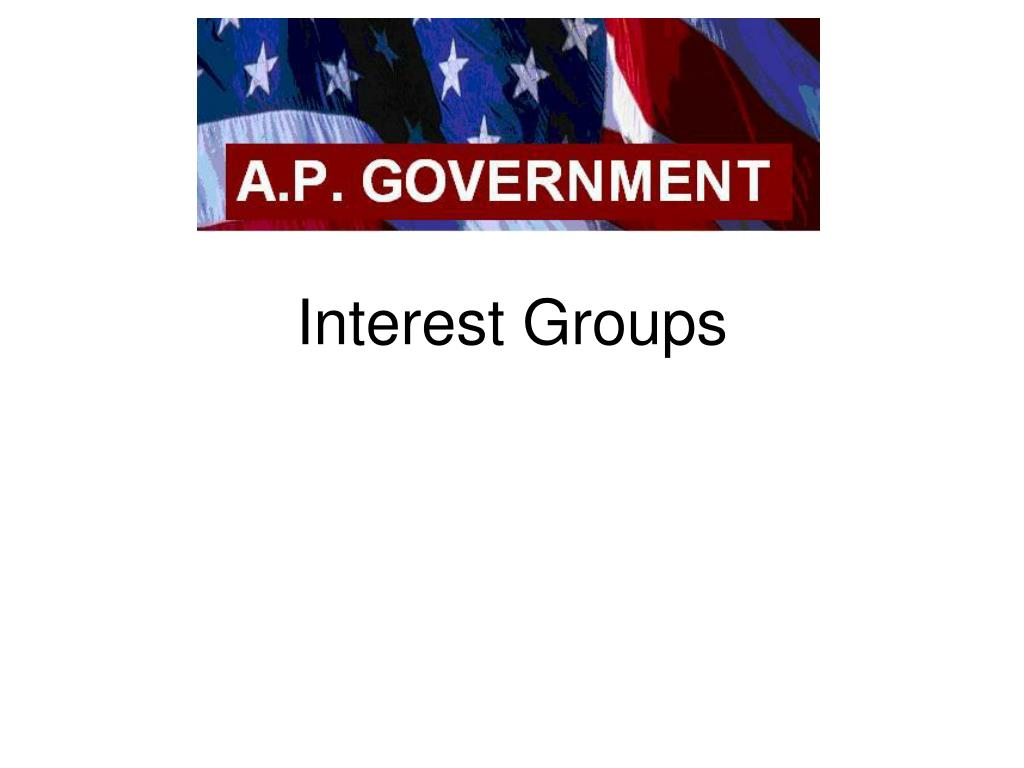 interest groups l.