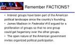 remember factions