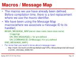 macros message map