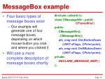 messagebox example