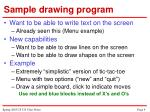 sample drawing program