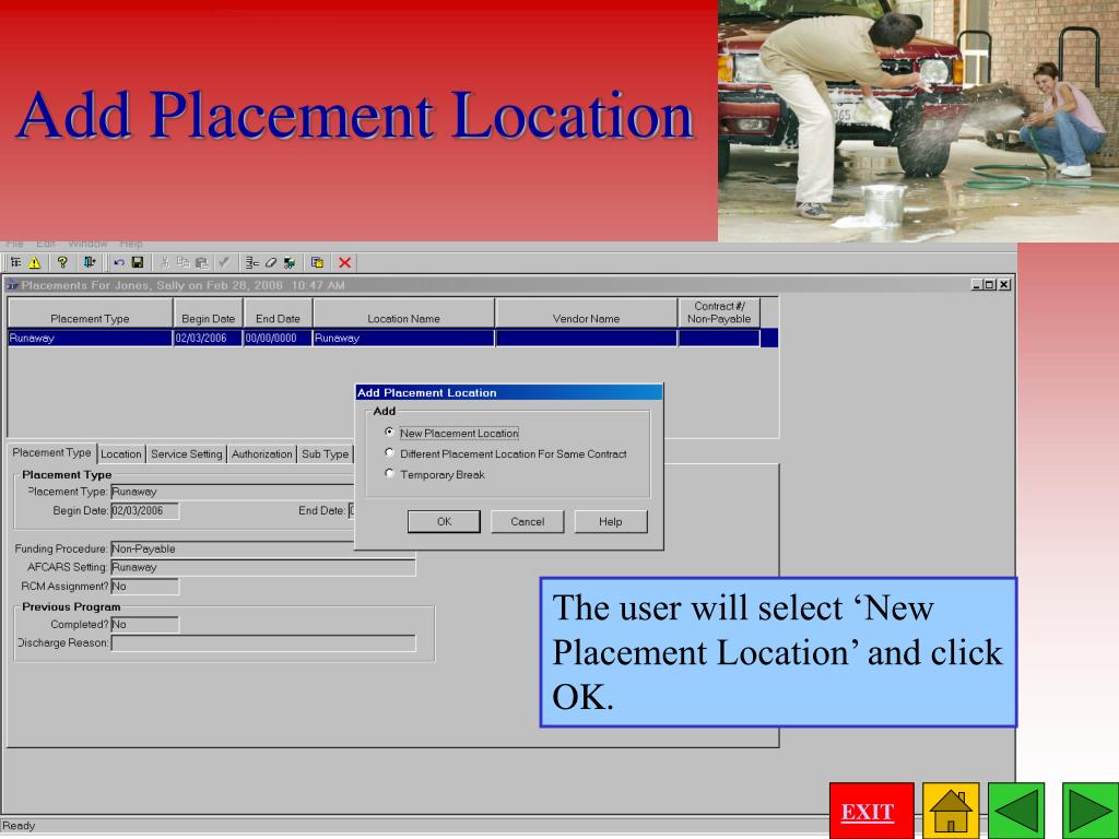 Add Placement Location