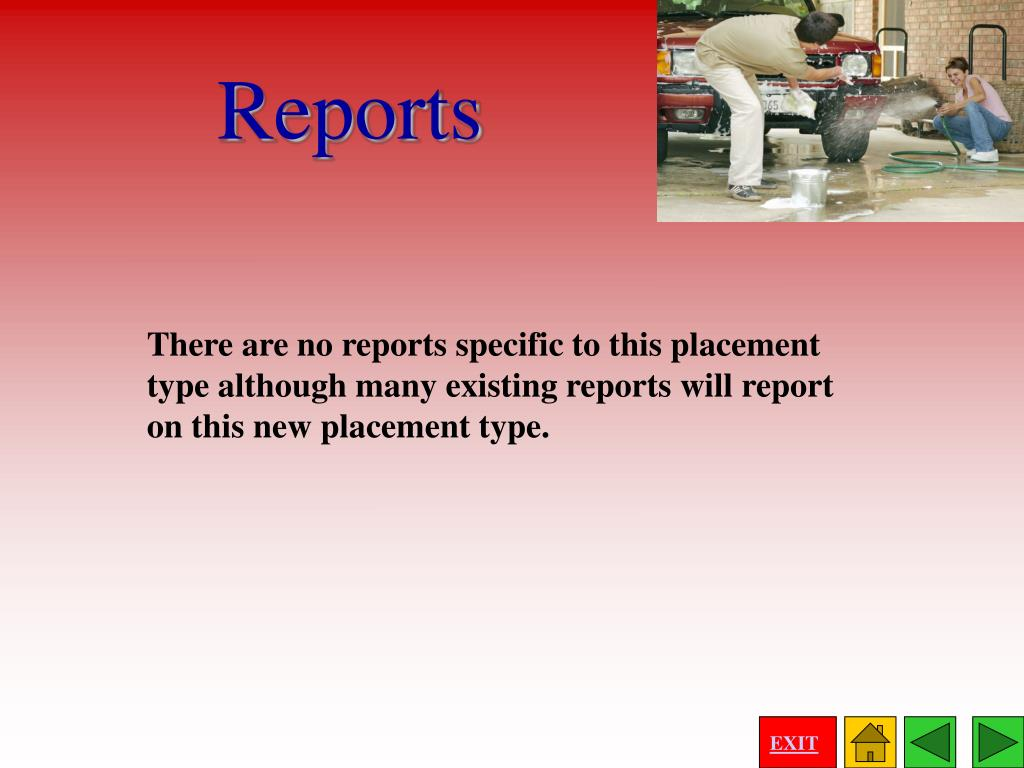 There are no reports specific to this placement type although many existing reports will report on this new placement type.