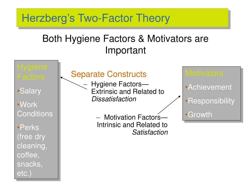 Herzberg's Two-Factor Theory