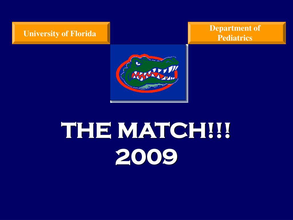 the match 2009 l.