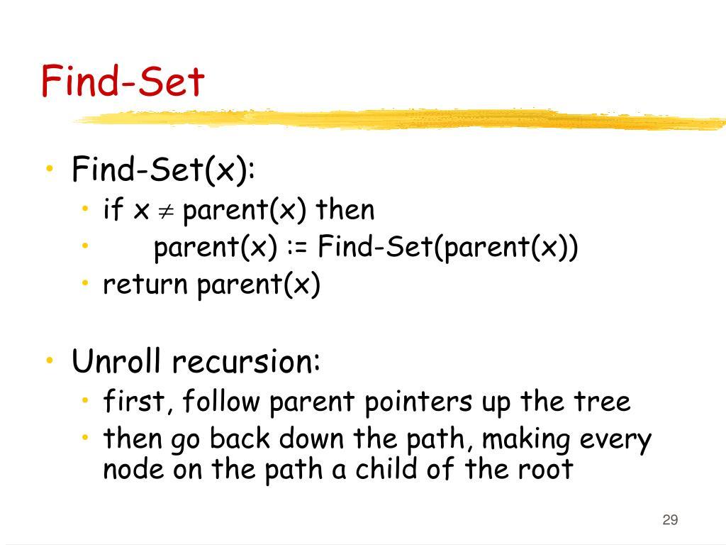 Find-Set