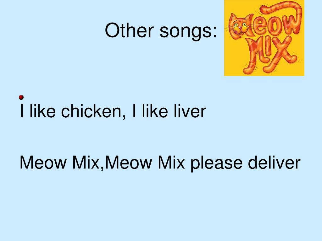 Other songs: