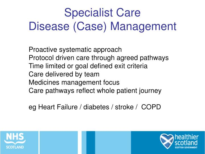 Specialist Care
