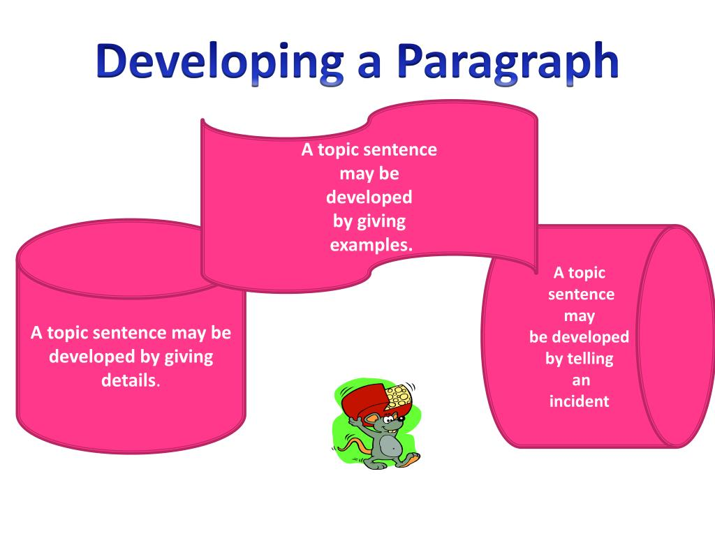 Developing a Paragraph