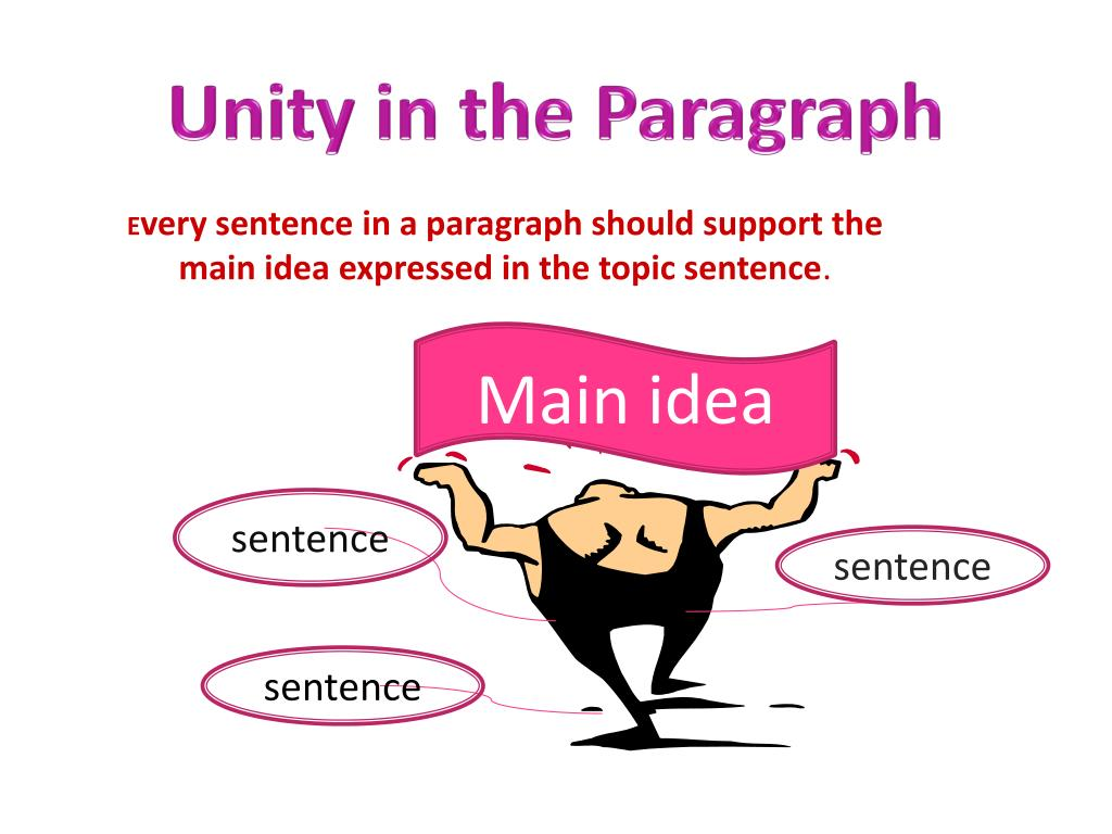 Unity in the Paragraph