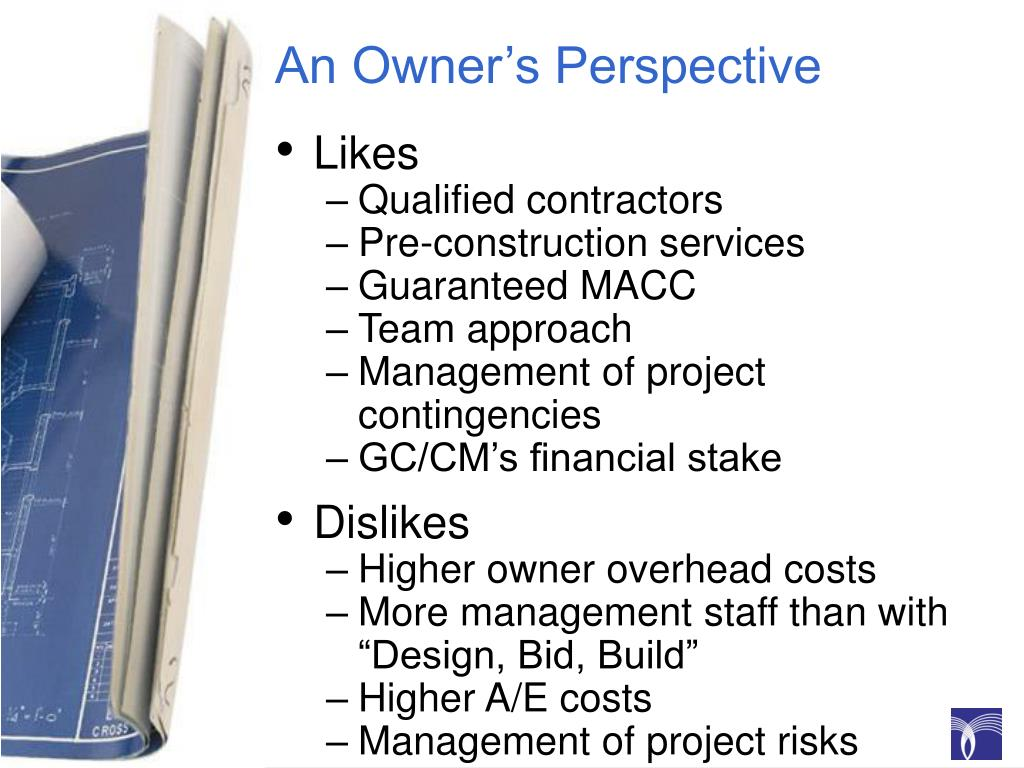 An Owner's Perspective