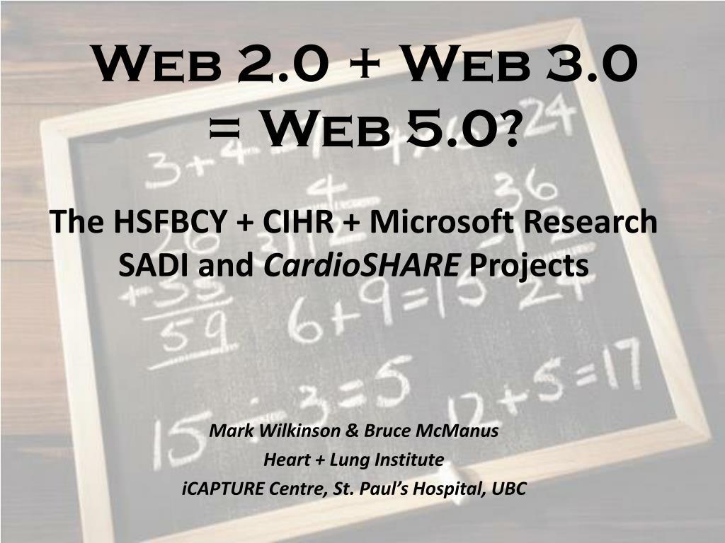 web 2 0 web 3 0 web 5 0
