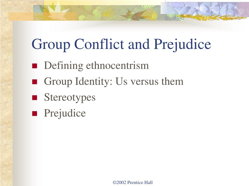 ethnocentrism and stereotyping