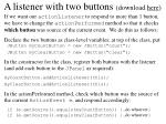 a listener with two buttons download here