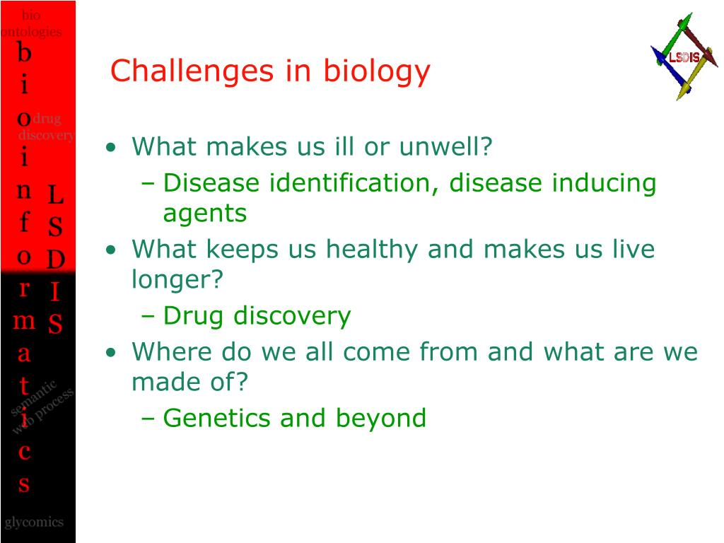 Challenges in biology
