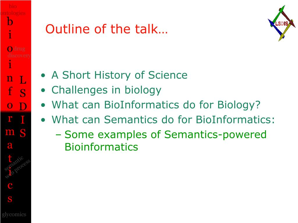 Outline of the talk…
