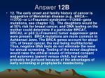 answer 12b
