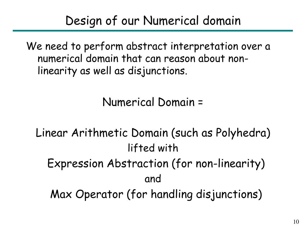 Design of our Numerical domain