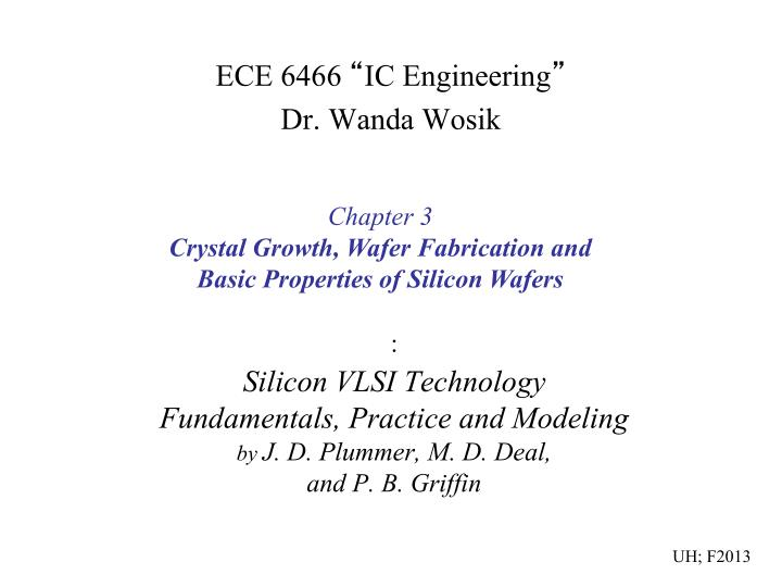 silicon vlsi technology fundamentals practice and modeling by j d plummer m d deal and p b griffin n.