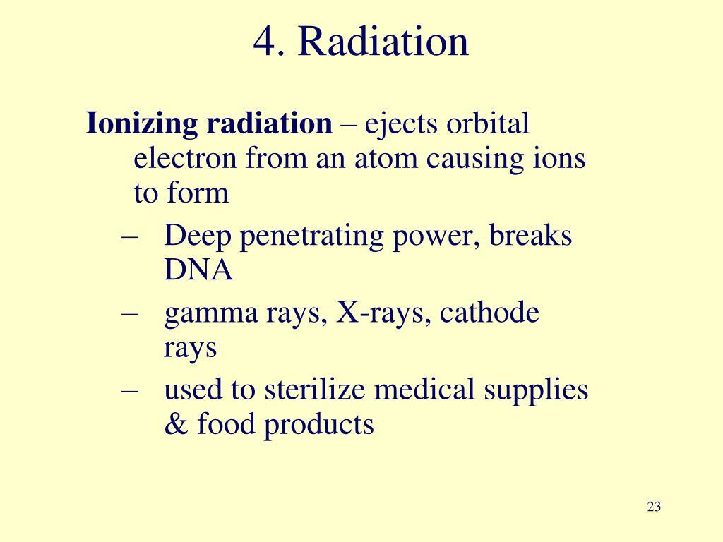 4. Radiation