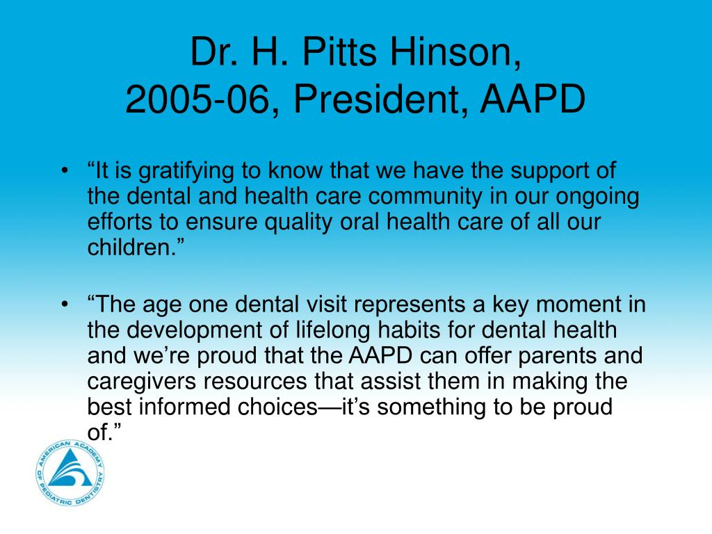 Dr. H. Pitts Hinson,