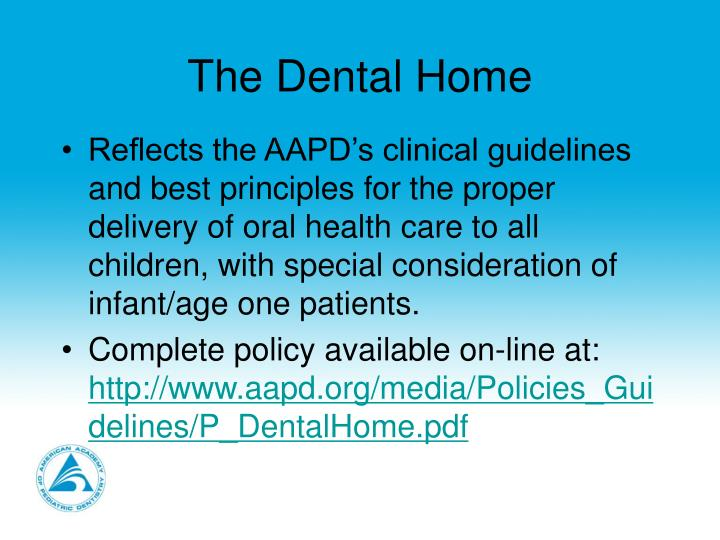 The dental home3