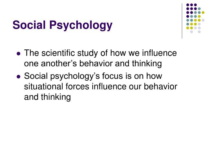 Social psychology2