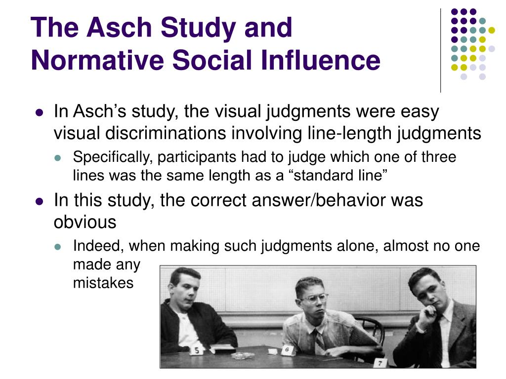 The Asch Study and