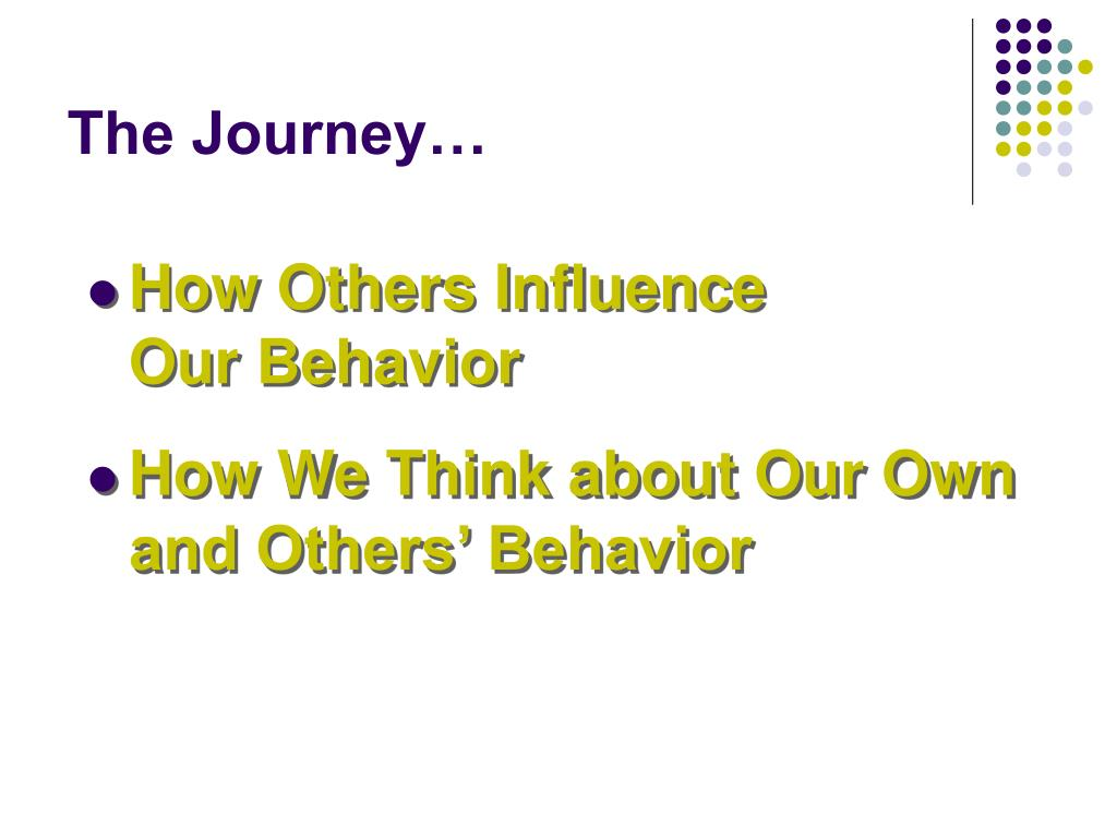 The Journey…