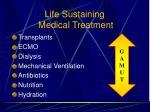 life sustaining medical treatment