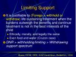 limiting support26