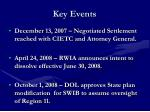 key events5