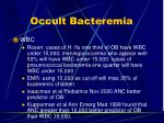 occult bacteremia6