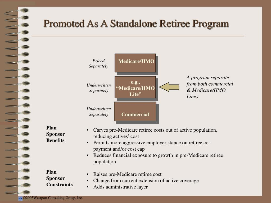Promoted As A Standalone Retiree Program