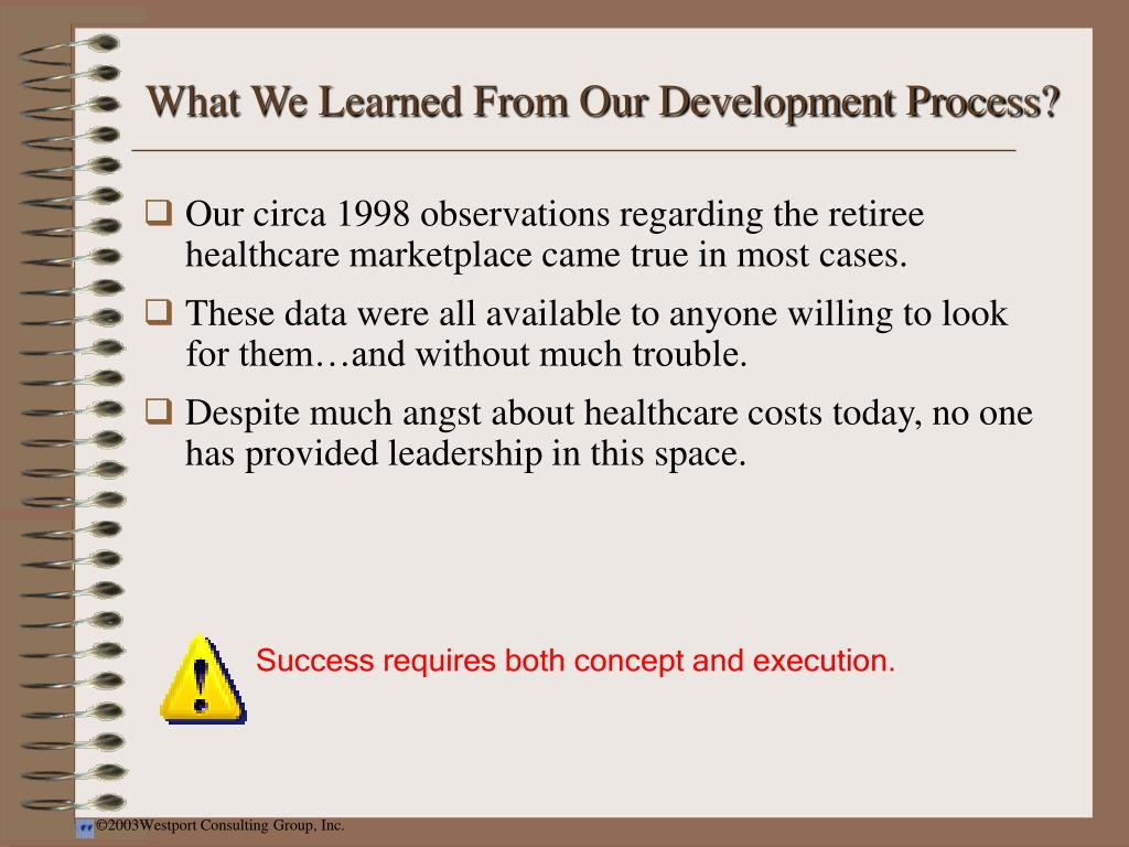What We Learned From Our Development Process?