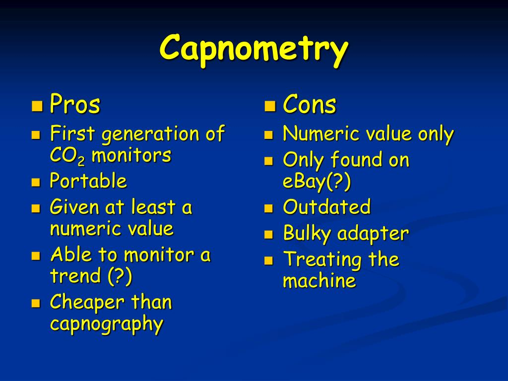 PPT - Capnography PowerPoint Presentation - ID:266654