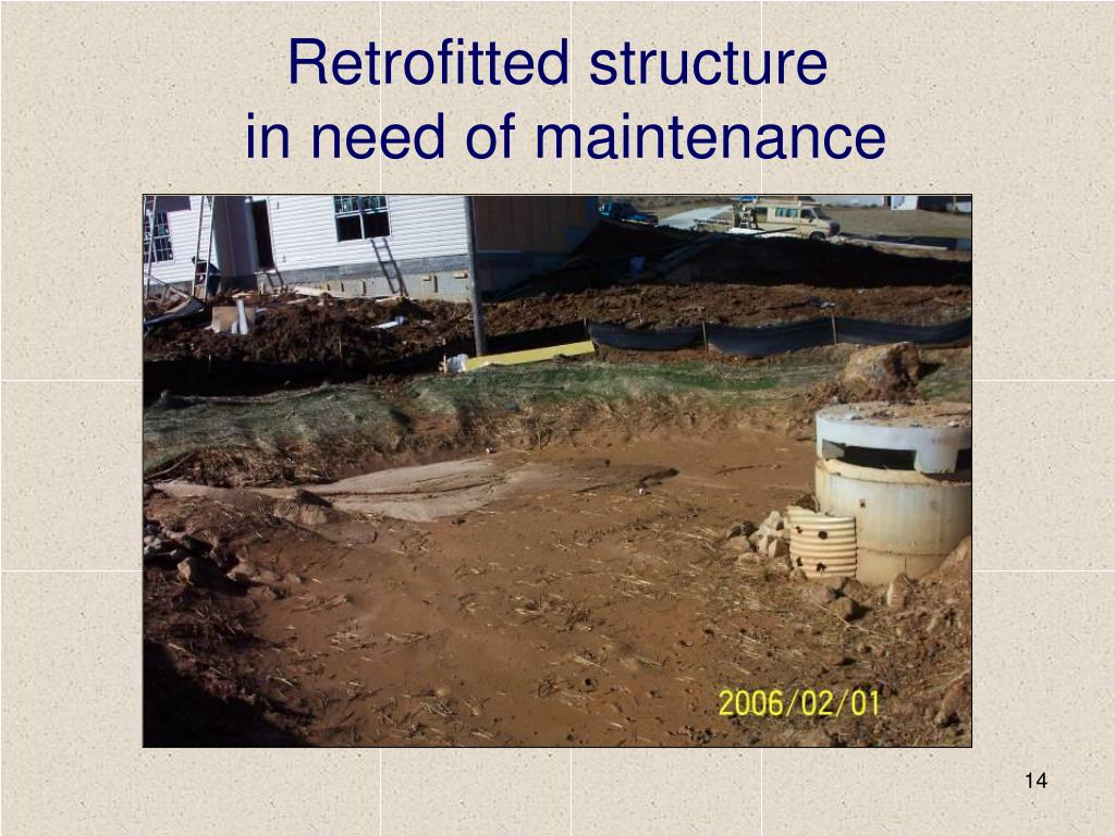 Retrofitted structure