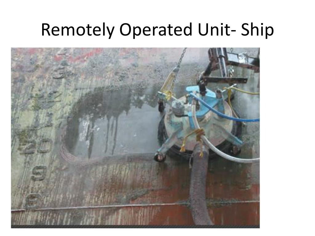 Remotely Operated Unit- Ship