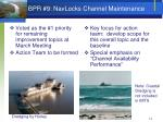 bpr 9 navlocks channel maintenance