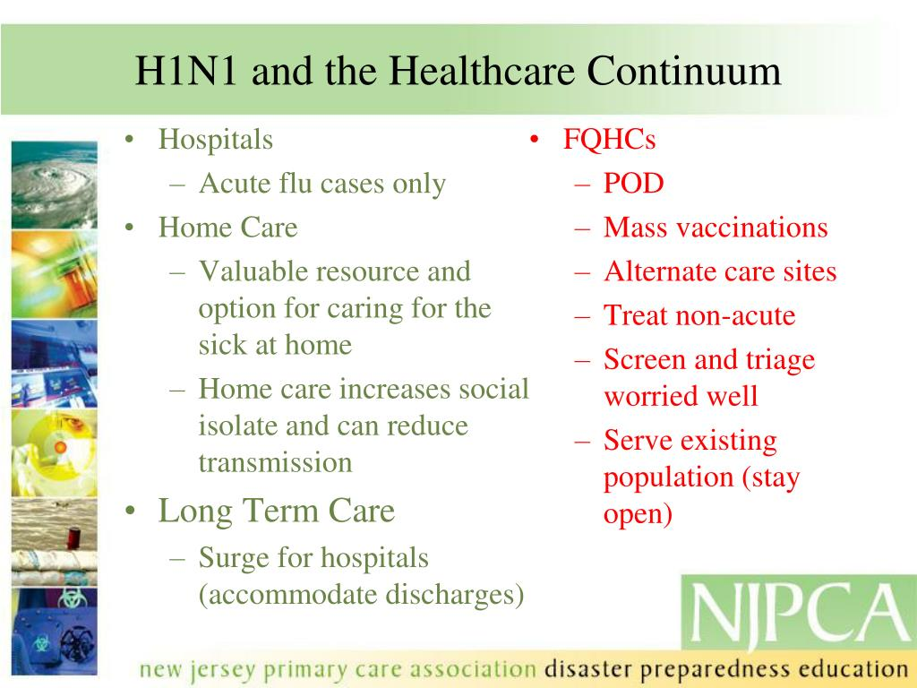 H1N1 and the Healthcare Continuum