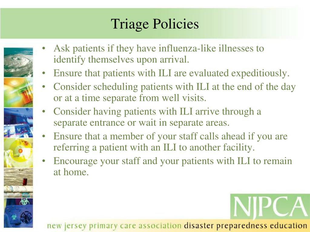 Triage Policies