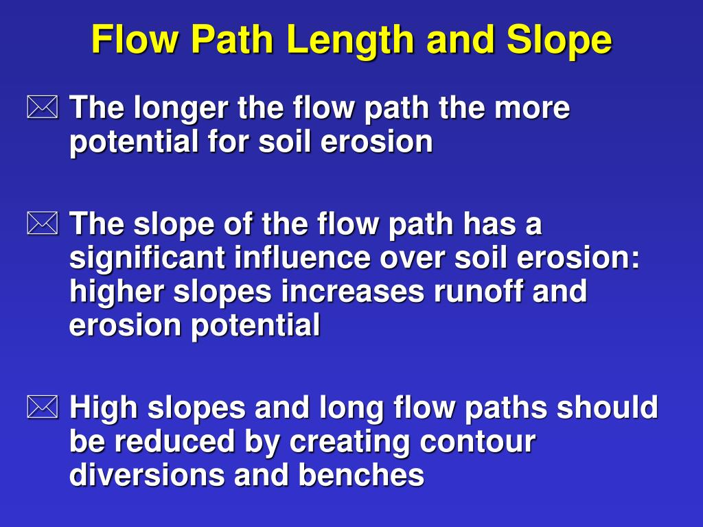 Flow Path Length and Slope