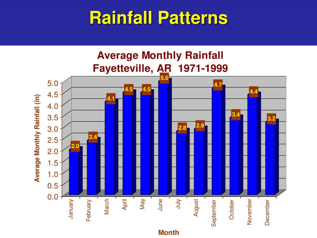 Rainfall Patterns