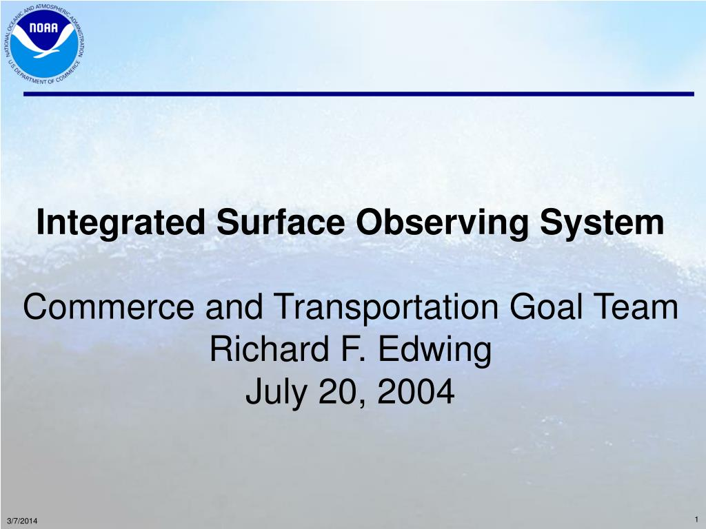 Integrated Surface Observing System