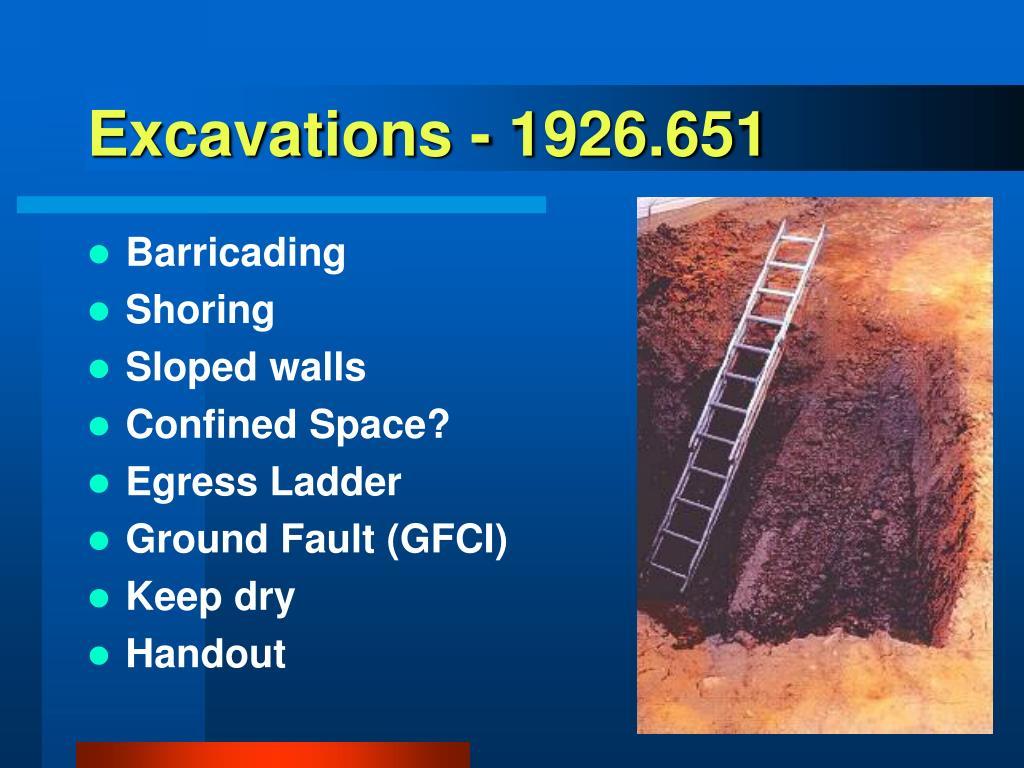 Excavations - 1926.651