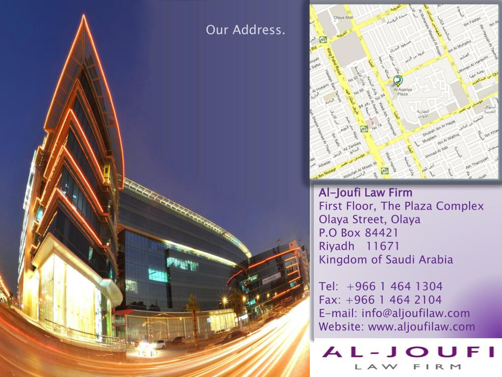 Our Address.